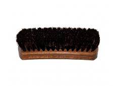 Арт.1243 Щетка натуральный волос, колодка 17см.