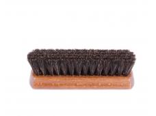 Арт.1363 Щетка натуральный волос, округлая колодка 17см.