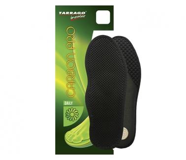 Стельки анатомические Carbon Pro, мембран.ткань/латекс, размерные