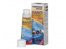 Арт.TGO22 Крем тюбик с губкой NANO Leather WAX, 75мл.