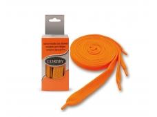Шнурки 120см. Плоск. (оранжевые)