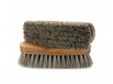 Щетка обувная, дерево, волос + синтетика, 170*53*30