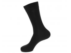 Арт.61301 Носки мужские Saphir, черный, шерсть+coolmax