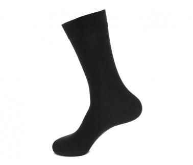 Носки мужские Saphir, черный, хлопок+нейлон комфорт
