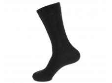 Арт.64001 Носки мужские Saphir, черный, шерсть+бамбук
